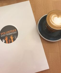 VolETN paper and cappuccino