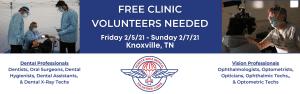 flyer for clinic volunteers 2
